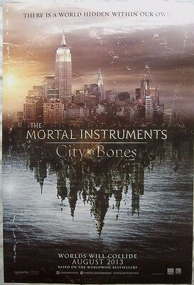 The Mortal Instruments: City of Bones (2013) ORIGINAL D/S  1-SHEET CINEMA POSTER