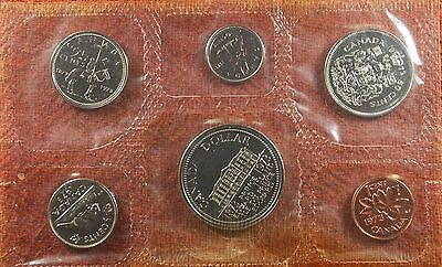 1973 6 Piece Canada Canadian Prince Edward Isle Proof Like Set