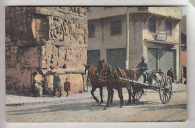 Cpa  Grece Europe  -  Salonique Armee Army Soldat Francais Attelage 1914 ~B40
