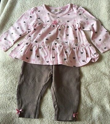 Bambini 3-6 Months Baby Girls Top & Trousers - Ex Condition!
