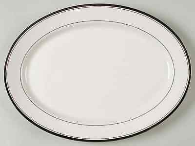 """Syracuse COUNTESS 14 1/8"""" Oval Serving Platter S702412G2"""
