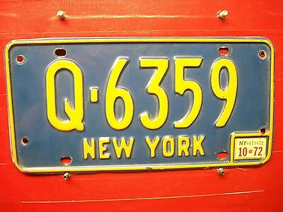 New York = 1972  = Passenger   Plate  =686