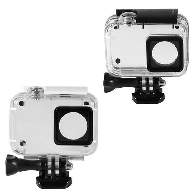 Underwater Waterproof Housing Case Cover for Xiaoyi 4K Action Camera Black/White