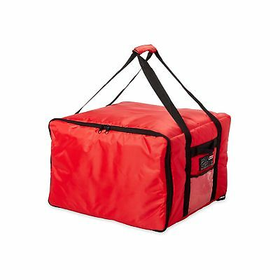 Rubbermaid Commercial ProServe Catering Delivery Bag Large Red FG9F3900RED New