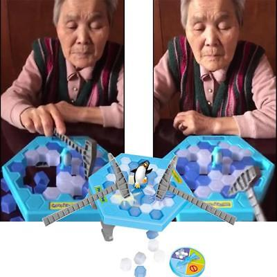 Penguin Trap Ice Breaker Game Save Penguin on Ice Block Family Toy Funny Game C