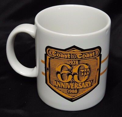 Vintage 1988 Coast To Coast 60Th Anniversary Mug Cup With Paint Can Graphics