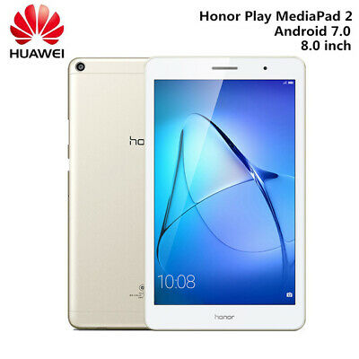 8.0'' HUAWEI Honor Play MediaPad 3GB/32GB Tablet PC 4800mAh BT4.1 TF 5.0MP,NUOVO