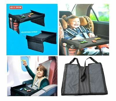 Snack & Play Travel Tray Practical Activity Table Children Car Accessoriesadjust