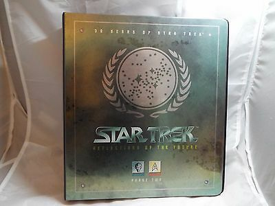 Star Trek 30 Years Phase 2 Collectors Binder