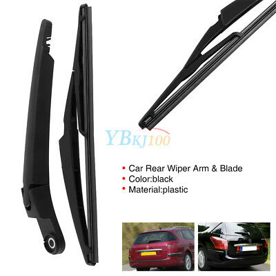 Car Rear Window Windshield Wiper Arm & Blade For Citroen C5 Peugeot 407SW 04-15
