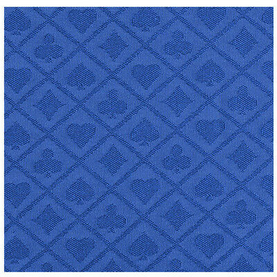 3 Yard POKER TABLE SUITED SPEED WATERPROOF CLOTH Blue Color 108 x 60 INCH