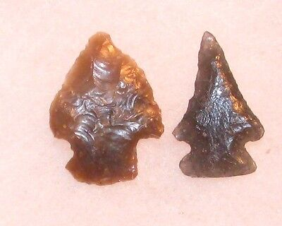 Colorado Indian Arrowheads-another  pair of southern colo points