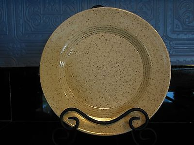 Homer Laughlin Country Sage Brown Speckled Dinner Plates set of 4