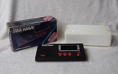 Star Hawk Space Combat Game 5152 Vintage Mattel Electronics w Box 1981 Works!