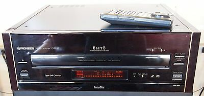 Pioneer CLD-97 laser disc player with remote - about mint