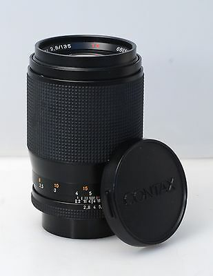 Contax 135mm 2.8 Sonnar T* in C/Y mount with caps....BEAUTIFUL!