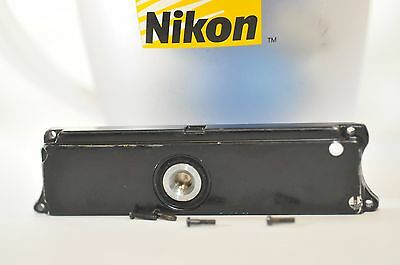 Nikon F base plate w/ screws replacement part for F-36 F-250 Motor Drive