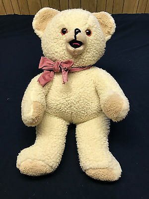 "Snuggles Large Plush Bear 20"" - Lever Brothers - 1986"