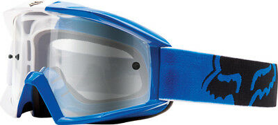 Fox Main Mx Goggles - 180 Race Blue Clear Lens