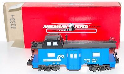 American Flyer 6-48710 CONRAIL Bay Window Illuminated caboose lighted S rd#21503