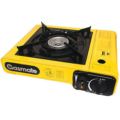 Gasmate Deluxe Travelmate Butane Stove CS170YD | Camping | BBQ |