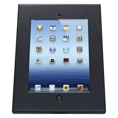 iPad Wall Mount Anti-Theft Secure Enclosure for iPad2/3/4/Air - Black