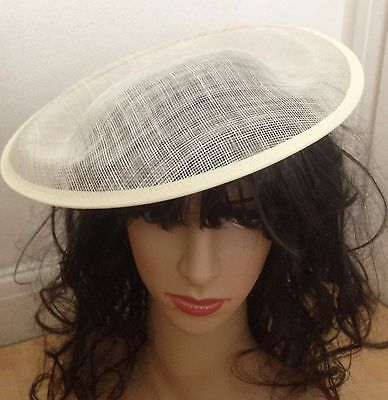 Hat Sinamay Dipped  Base 30 cm Great for making fascinators party hats
