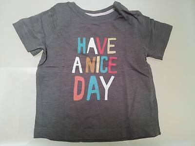 Tee shirt Have A Nice Day Bout'chou 12 mois