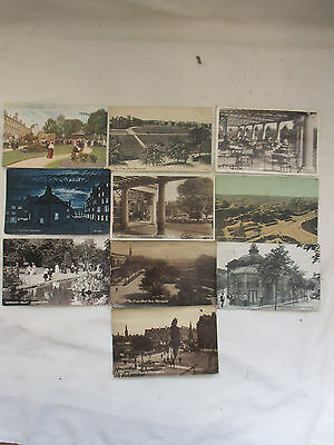 10 x Vintage Photographic Postcards c.1900-20's Used - Harrogate