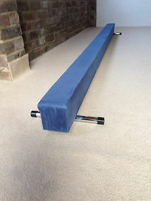 finest quality gymnastics gym balance beam blue 9FT long reduced  bargain