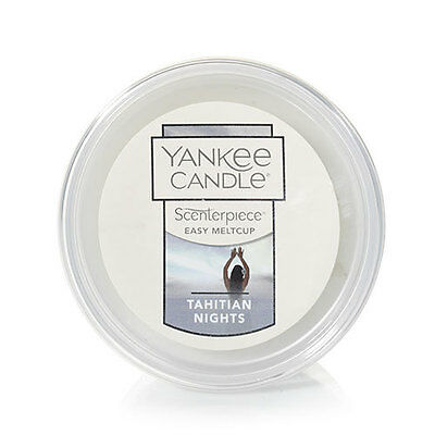 (6) Yankee Candle Scenterpiece Easy MeltCups TAHITIAN NIGHTS