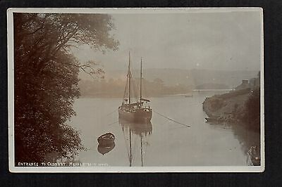 Menai Strait - Entrance to Cadnant - real photographic postcard