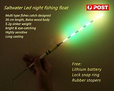 36 cm Electronic Vertical Night Fishing Float + Battery, Local store Shipping !