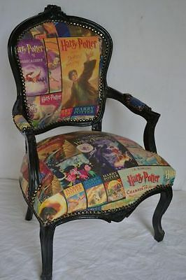 "Louis XV style armchair - ""Harry Potter"""