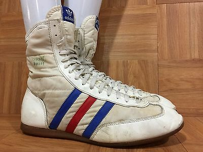 VINTAGE🔥 ADIDAS BOXING Boots Red White