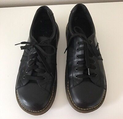 Dr Martens Black Leather Lace Up Oxford Shoes Men's Sz 8