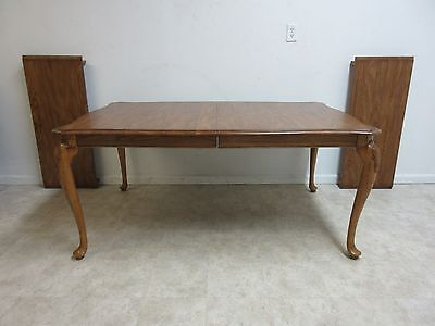 Pennsylvania House Solid Oak Queen Anne Dining Room Banquet Conference Table