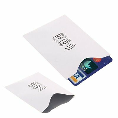 3/5pcs Contactless Payment AntiTheft Shield Block RFID Credit Card Cover Safety