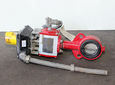 "Used-2.5"" Bray Butterfly Valve with Actuator"