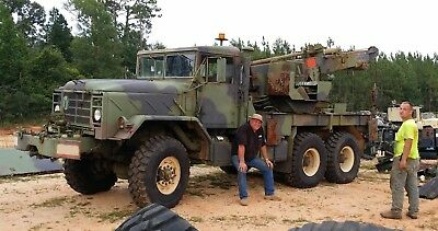 1984 Military M936 5 Ton Wrecker Truck with Lots of Accessories
