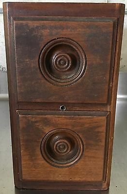 Antique Singer Fiddle Treadle  Sewing Machine Drawers with Frame