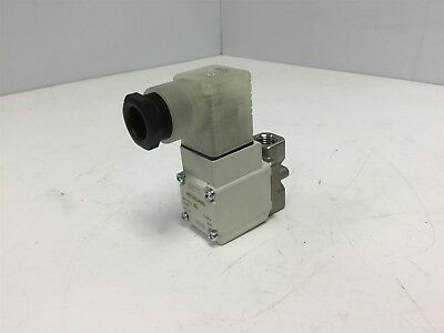 SMC VX212MZ2ABXB Solenoid Valve, Normally Closed, 2-Way, 1/4 NPT, Voltage: 24VDC