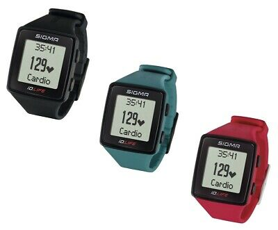 Sigma Sports iD.LIFE watch Activity Tracker Heart rate monitor, various Colours