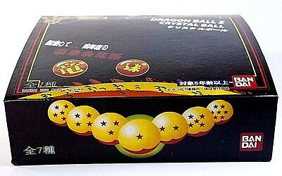 2006 BANDAI Dragon Ball Z 7 Pc Crystal Ball Set in Box