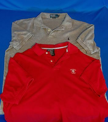Lot of 2 Pre-Owned Ralph Lauren Polo size L Men. Very good Condition