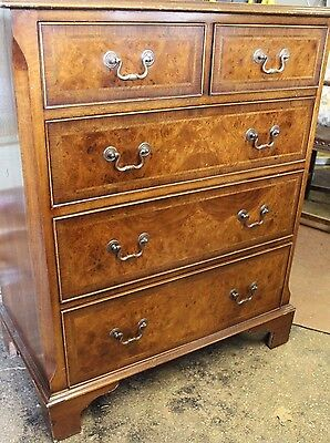 Good Quality Reproduction  Walnut Chest Of Drawers