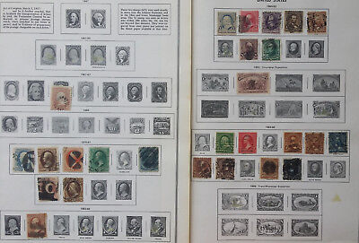 """United States Issues of 1870-1922 Used/MH """"Stamps Only"""""""