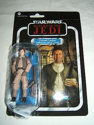 STAR WARS The vintage collection COLONEL CRACKEN   Kenner 2012 Neuf