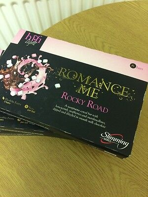 5 Boxes Of Slimming Worlds Hi Fi Lite Rocky Road Bars. Total Of 30 Bars