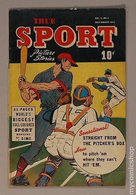 True Sport Picture Stories Vol. 4 (1947) #2 GD+ 2.5 LOW GRADE